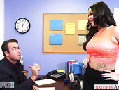Juggy secretary Rachele Richey does everything her boss desires