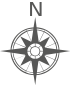 Gray compass rose.svg