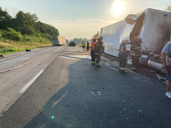 Picture of crash in Indiana