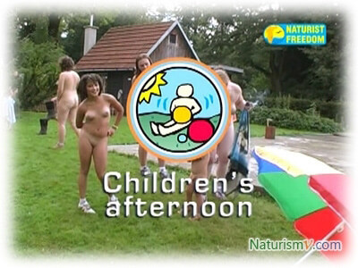 Детский Вечер / Children's Afternoon (Naturist Freedom ...->->->->->-> [57:07x240p]-> [57:07x240p]-> [57:07x240p]-> ->