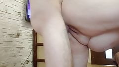 attached to the mother-in-law and fucked her with cumshot