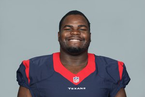 This is a photo of Louis Nix of the Houston Texans NFL football team. This image reflects the Houston Texans active roster as of Tuesday, July 7, 2015