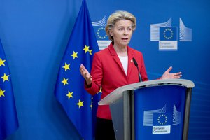 Statement by Ursula von der Leyen, President of the European Commission, Brussels, Belgium, 01/10/2020.
