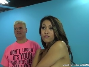 Nadia Styles and Jayden Lee squirting on a cock
