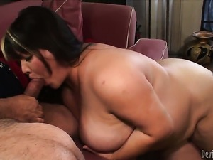 Asian Kelly Shibari is on fire in sex action with horny fuck buddy Ron Jeremy