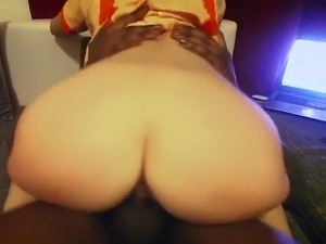 White Wife Riding BBC