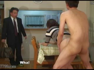 Japanese Cuckold Shared Wife Fucked from Doggy Style...