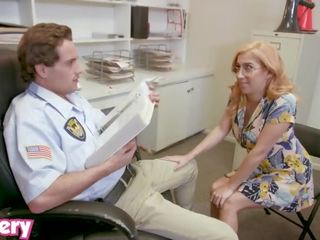 Trickery - April O'neil Tricked Into Sex With a Security Guard