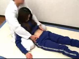 brunette mov, japanese, nice striptease video