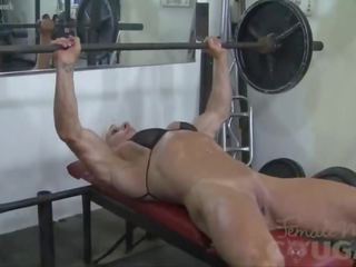 see masturbating fucking, real fitness scene, more gym