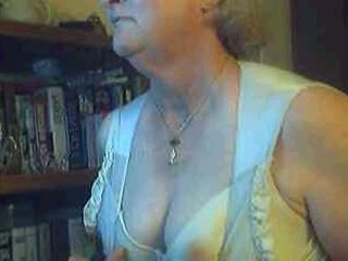 Horny Granny In Private Nude Chat Room