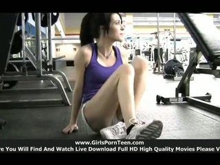 hot sport fucking, gym fuck, full solo girls scene